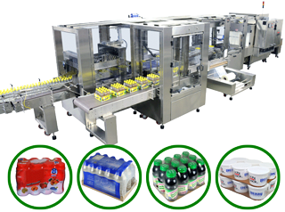 POLYPACK CLEARPRINT Versatile shrink bundler for both clear and printed film applications