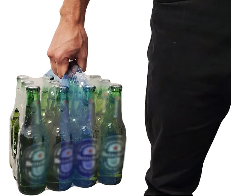 less waste and easier to hold