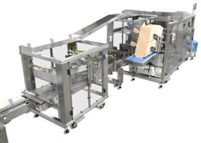 Wraparound Diverter Machine