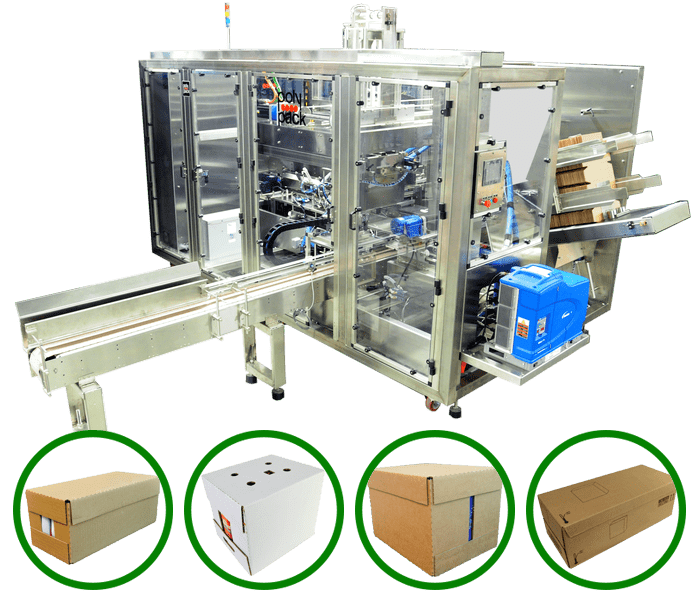 Wraparound packaging machine