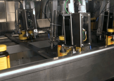 spinning bottles to face the same direction
